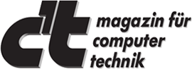 Magazin für Computertechnik. ct logo